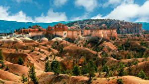 Wallpapers USA Parks Cliff Canyons Bryce Canyon National Park, Utah Nature