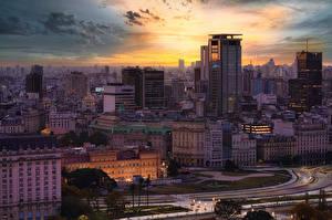 Papel de Parede Desktop Argentina Casa Tarde Buenos Aires Cidades