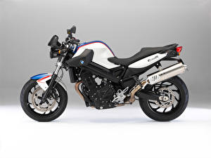 Fotos BMW - Motorrad Weiß Seitlich
