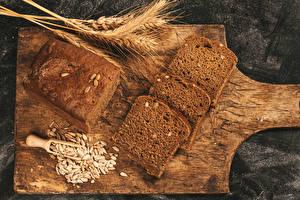 Hintergrundbilder Brot Schneidebrett Ähren Getreide
