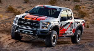 Bilder Ford Pick-up F-150, Raptor, Race Truck, 2016 Autos