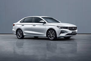 Wallpaper Geely White Metallic Chinese Emgrand, 2021 Cars