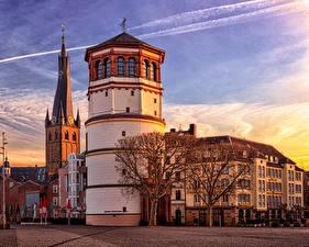Fotos Deutschland Haus Platz  Städte