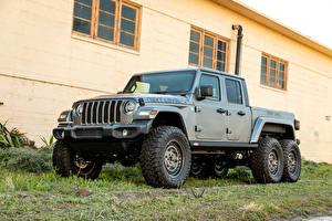 Фото Jeep SUV Серый Пикап кузов 2021 Next Level Gladiator 6x6 авто