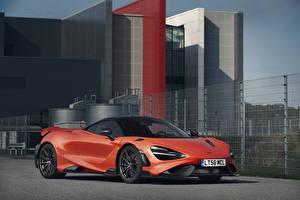 Fonds d'écran McLaren Rouge 2020-21 765LT Worldwide