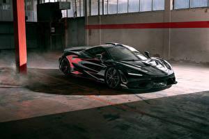 Фото Макларен Серая Металлик 2021 Novitec McLaren 765LT Автомобили