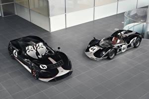 Fonds d'écran McLaren Tuning Deux Noir Métallique Roadster 2020-21 M1, MSO Elva M1A Theme