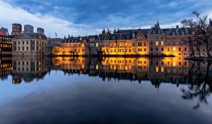 Fotos & Bilder Niederlande Haus Teich The Hague, Hofvijver Städte