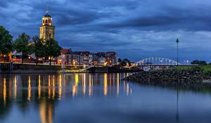 Fotos & Bilder Niederlande Haus Flusse Deventer Städte