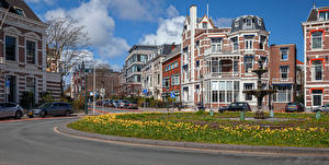 Images Netherlands Houses Street The Hague Cities