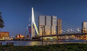 Fotos & Bilder Niederlande Rotterdam Haus Brücken Städte