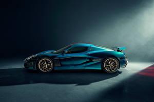 Picture Side Metallic Rimac Nevera, 2021 Cars