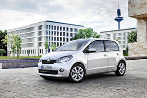 Fotos & Bilder Skoda Silber Farbe Metallisch Citigo 5-door, (Worldwide), 2012-17 Autos