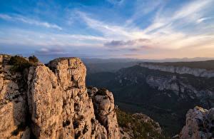 Papel de Parede Desktop Espanha Montanha Rocha Catalonia