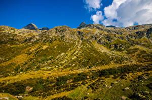 Papel de Parede Desktop Suíça Montanha Alpes