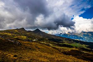 Fotos & Bilder Schweiz Gebirge Alpen Wolke Eiger Natur