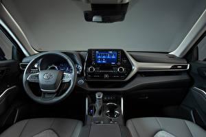 Papel de Parede Desktop Toyota Salons Volante Highlander XLE Bronze Edition, (North America), 2021