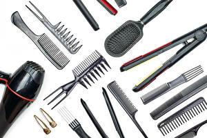 Hintergrundbilder Weißer hintergrund Föhn hairbrush