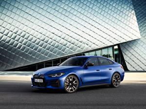 Fotos BMW Blau 2021 i4 M50 Worldwide Autos
