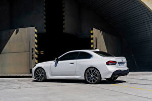 Wallpapers BMW White Metallic Coupe 220i Coupe, (Worldwide), (G42), 2021