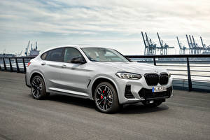 Wallpaper BMW Metallic White X4 M40i, (Worldwide), (G02), 2021