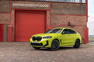 Picture BMW CUV Yellow green Metallic X4 M Competition, (Worldwide), (F98), 2021 Cars