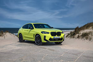 Image BMW Crossover Lime color Metallic X4 M Competition, (Worldwide), (F98), 2021 auto