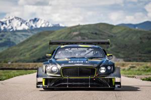 Hintergrundbilder Bentley Vorne Continental GT3 Pikes Peak, 2021 automobil