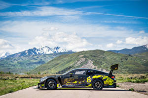 Desktop hintergrundbilder Bentley Seitlich Continental GT3 Pikes Peak, 2021 auto