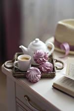 Hintergrundbilder Kaffee Cappuccino Zefir Tasse das Essen