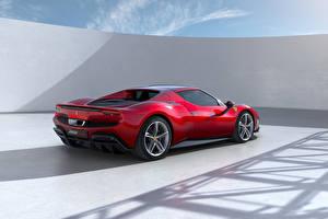 Fondos de escritorio Ferrari Rojo Metálico 296 GTB (F171), 2022 autos