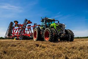 Fotos Acker Landwirtschaftlichen Maschinen Traktoren 2019-21 Fendt 942 Vario Worldwide