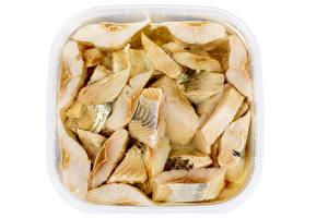 Fondos de Pantalla Peces - Alimentos El fondo blanco Pedazo Alimentos imágenes