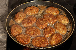 Photo Rissole Frypan Food