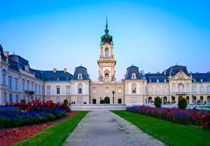Bilder Ungarn Palast Weg Rasen Design Museum Kesthey, Festetich Palace Städte