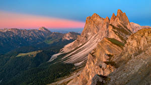 Fonds d'écran Italie Montagne Photographie de paysage Alpes Dolomites, South Tyrol Nature