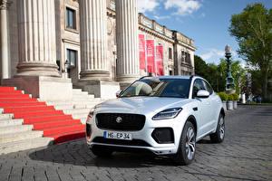Images Jaguar Crossover White Metallic E-Pace 300 Sport, (Worldwide), 2020 Cars