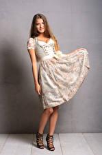 Wallpapers Smile Posing Dress Uniform Maids Janna