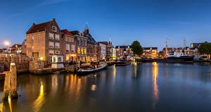Fotos & Bilder Niederlande Haus Binnenschiff Maassluis Städte