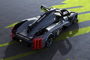 Photo Peugeot Black Metallic Opened door 9X8, 2022 automobile