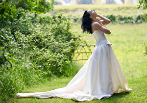 Fotos Pose Kleid Hand