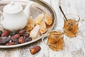 Image Tea Kettle Two Highball glass Food