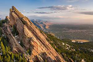 Bilder Vereinigte Staaten Gebirge Landschaftsfotografie Felsen Colorado Natur
