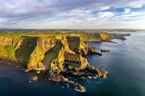 Hintergrundbilder Vereinigtes Königreich Küste Landschaftsfotografie Northern Ireland, Antrim