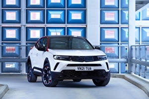 Images Vauxhall Crossover White Metallic English Mokka SRI, 2021 Cars