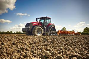 Fonds d'écran Machinisme agricole Champ Tracteurs Terre 2015-21 Case IH Magnum 380 RowTrac CVX