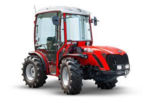 Fotos Traktoren Rot Weißer hintergrund Antonio Carraro TRX 5800, 2018 - -