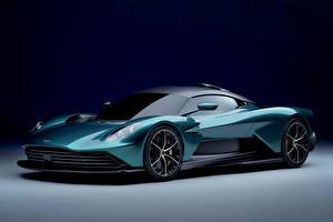 Tapety na pulpit Aston Martin Zielony Metaliczna Valhalla, (Worldwide), 2021 Samochody