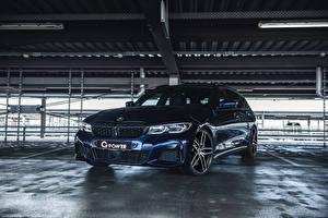 Fotos BMW Blau Metallisch 2020 G-Power M340i Touring auto