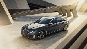 Fonds d'écran BMW Grise Métallique 2021 740Li M Sport automobile